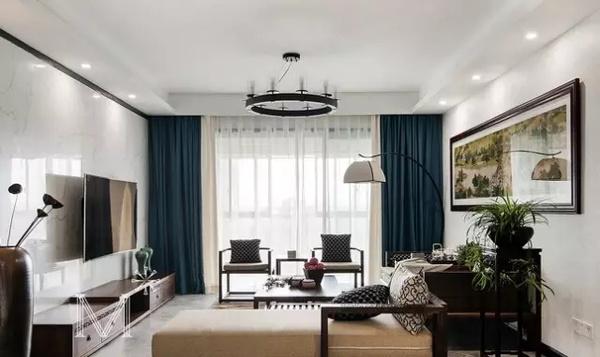 上海室内装修_家装中式吊顶图片
