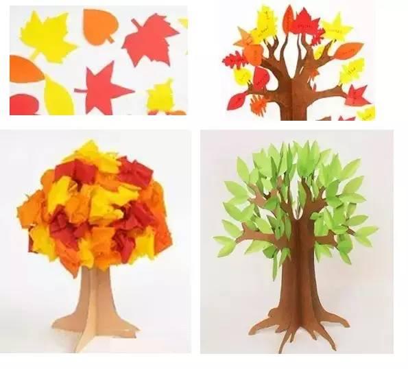 【教师篇】环创与手工—春天的小树在成长