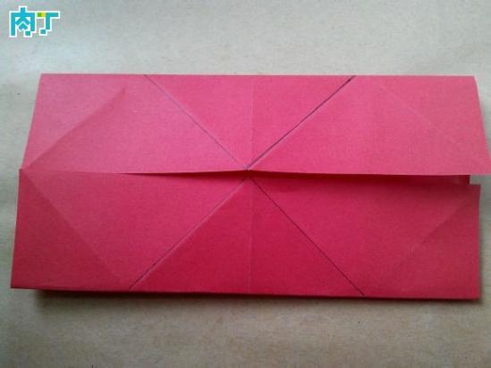 跟我学做纸艺花 玫瑰花的折法大全之风车玫瑰折纸教程