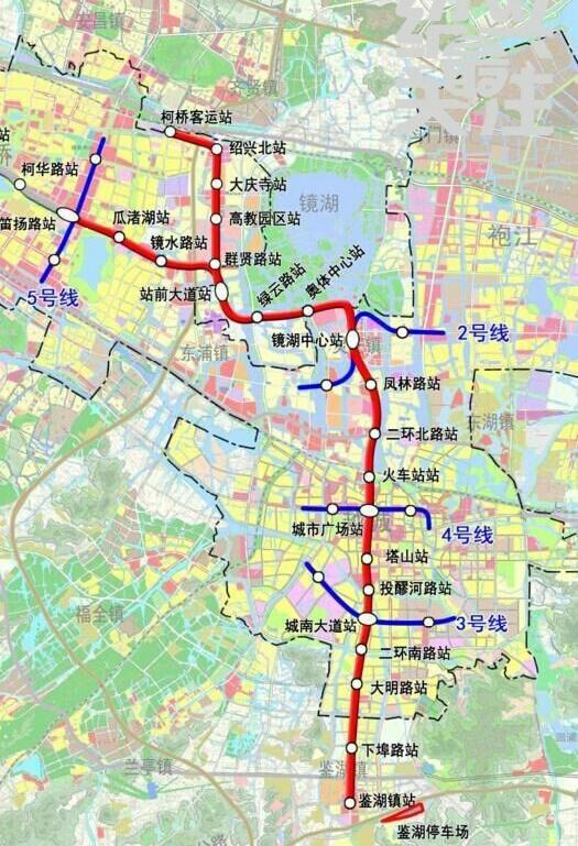 绍兴地铁1号线站点信息,绍兴地铁一号线乘坐攻略