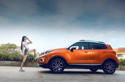 长安汽车推出小型SUV CS15 最大卖点却是大空间高清图片
