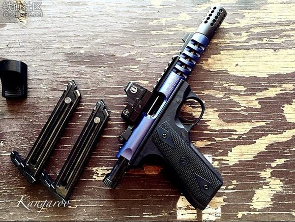 枪械库:适合女士的.22情趣用品Ruger22/45Tac深圳龙岗区哪有店情趣用品图片
