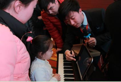 艾范儿数字钢琴教室解决了传统音乐培训机构 师资稳定性...
