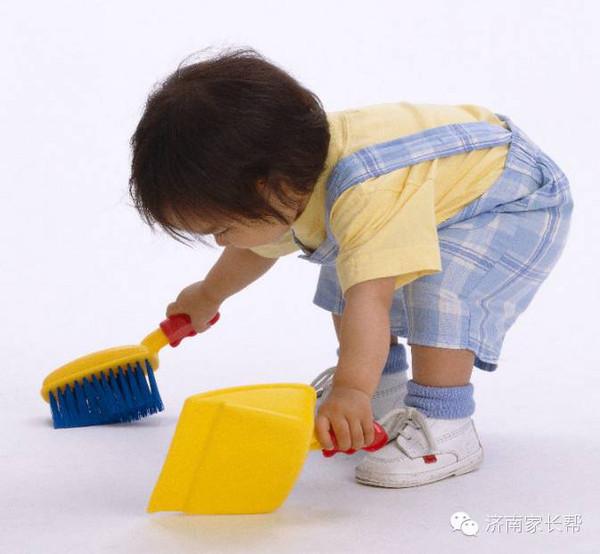 让孩子陪你做家务吧,效果奇佳!