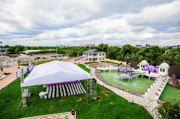 爱莎公爵酒店庄园哈尔滨草坪婚礼图片