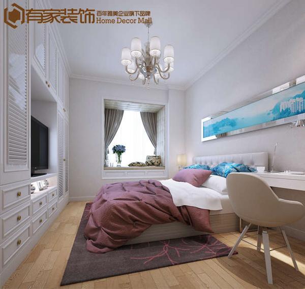 卧室的风格则是简欧风格图片