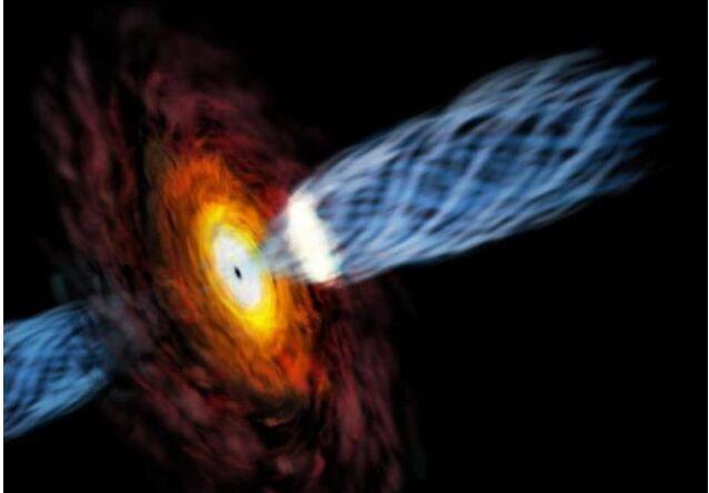 【举世网归纳报导】据日本《产经股票论坛 》3月14股票 导,日本韩国协作研讨小组12日称观察到自品质约太阳60亿倍的超大黑洞中放射出濒临光速的气体。这次观察有助于研讨黑洞之谜之一的喷气景象。
