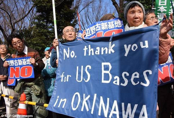 美士兵强暴日本40岁醉酒女 日民众反应令人震惊