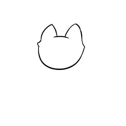 动物的简笔画,有漂亮的小鸟