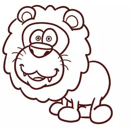 《疯狂动物城》里小动物简笔画