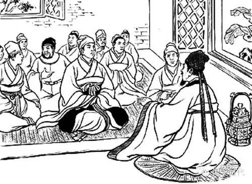 简笔画人物卡通孔子-郑国贵族子产 孔子都为之感慨万千的著名政治家
