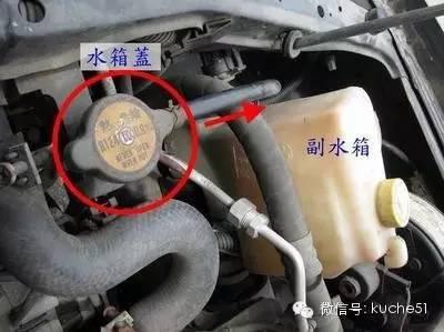 水箱和冷却体系,怎样维护,轿车犯高温头疼?