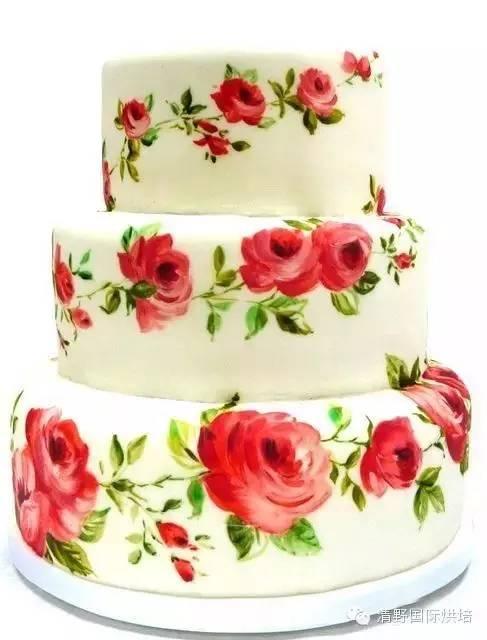 彩绘翻糖蛋糕,怎么会这么诱人