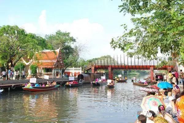 曼谷这个美美哒水上市场 游客根本没听过