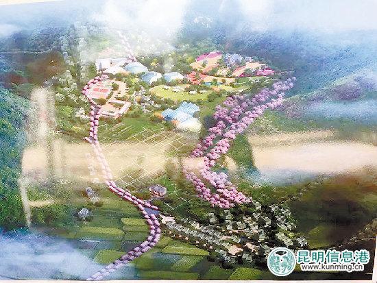 高新区农业示范区规划图.供图图片