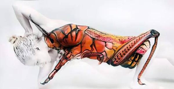 人体艺术网6789_所以说, 人体艺术源于人体之美! 一起来欣赏吧! 真的是斑马吗?