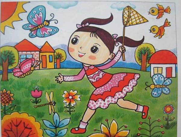 雷锋儿童手绘明信片
