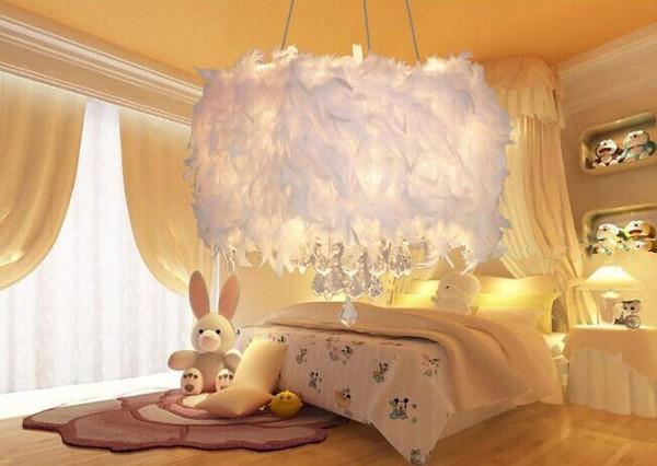 婚房卧室布置 婚房唯美吊灯