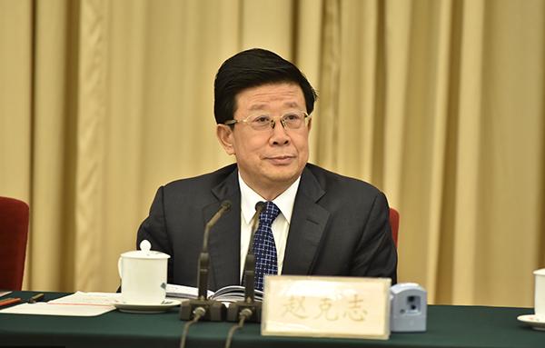 河北省委书记赵克志。 视觉中国 图