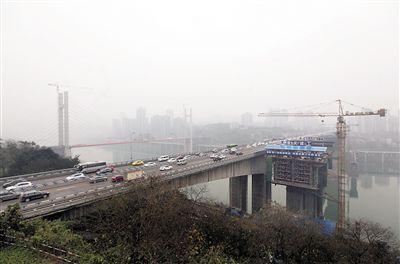 郭家沱长江大桥工程连接两江新区和南岸区,1024草溜图片