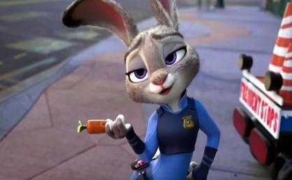 《疯狂动物城》兔子朱迪的励志故事被曝抄袭中国内地作家张一一的相关剧本