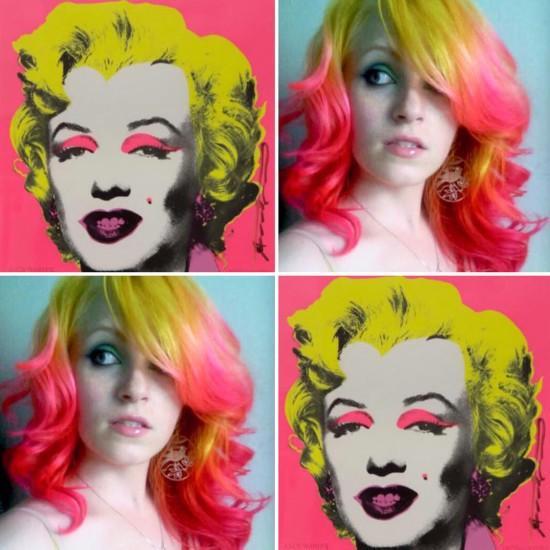 """艺术与摄影网站""""borepanda""""1月31日报道,美国堪萨斯州的发型师厄休拉图片"""