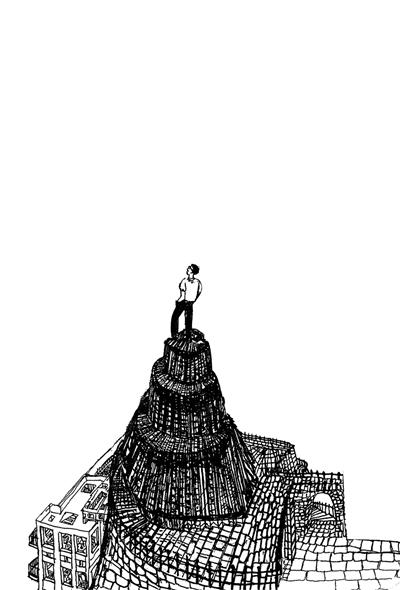 封面图片源自帕慕克手绘图局部