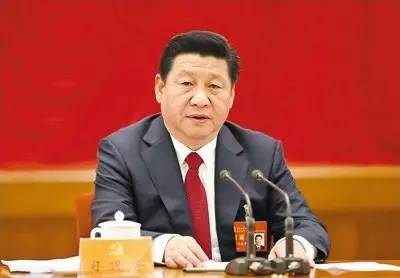 图为:2014年10月20日至23日,中国共产党第十八届中央委员会第四次全体会议在北京举行,中央委员会总书记习近平作重要讲话。