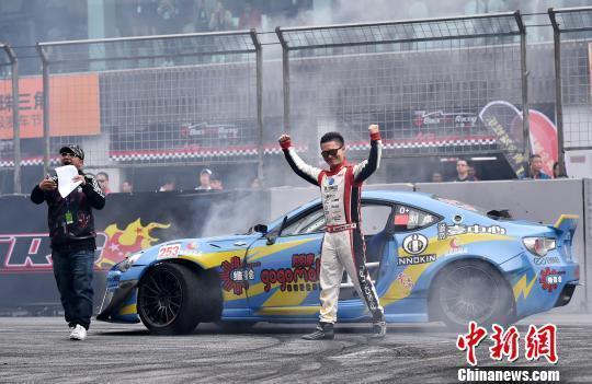 2016红牛漂移大赛春季赛追逐赛3月20日在珠海国际赛车场举办 冒韪 摄