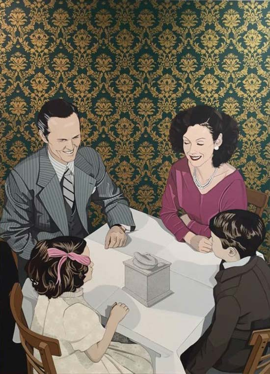 陈飞  The Charm of the Middle Class's Gaze, 2015
