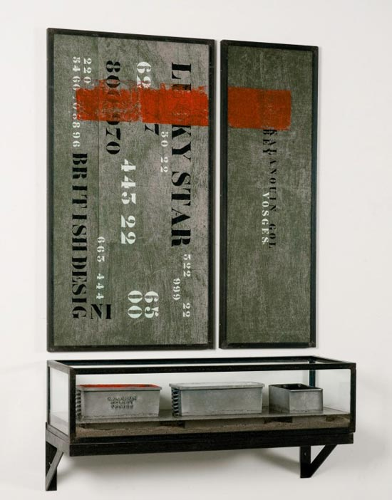 陈箴  L'Autel - Rouge, blanc, noir, 1993