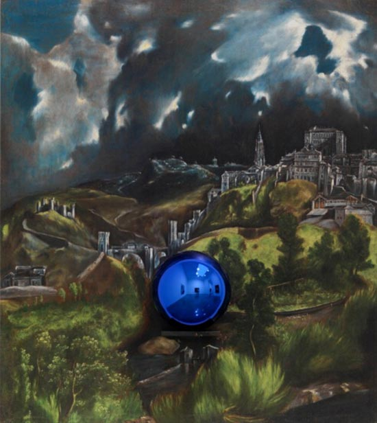 杰夫・昆斯  Gazing Ball (El Greco View of Toledo), 2015