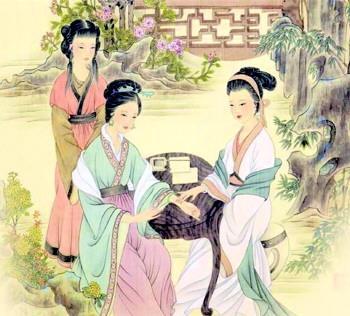 古代那些行医女子(组图)图片