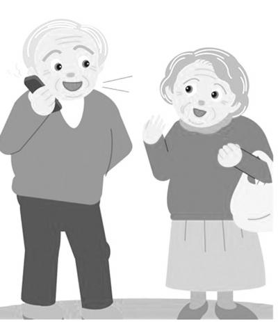 扬州半数老人渴望玩转微信,学会手机上网(图)图片