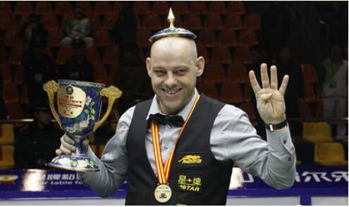 艾伯尔顿获得首届中式台球世锦赛男子组冠军