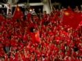 视频-中国足球队发布海报 爱足球我们爱中国