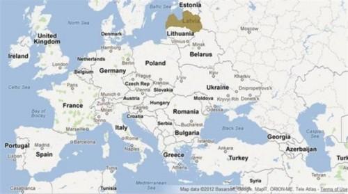 东与俄罗斯,白俄罗斯二国相邻,全国总面积64589平方公里.