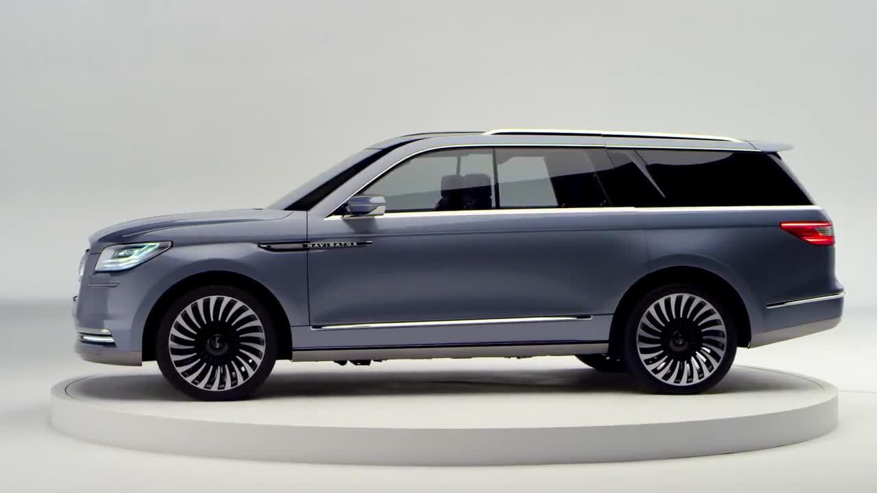 [海外新车]新一代林肯全新领航员概念车
