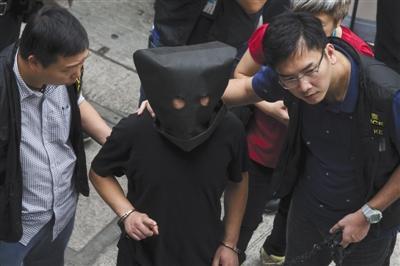 2015年5月5日,香港,差人掌握一位被疑�⒓游髫��架�_密斯一案的嫌犯。�D/CFP