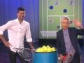 《艾伦秀第13季片花》S13E125 艾伦与男网冠军诺瓦克比网球 表现惊艳