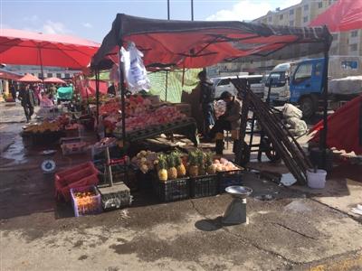 地点一:曹家寨农副产品批发市场