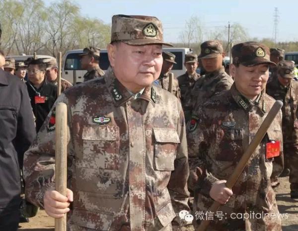 军委装备发展部部长张又侠上将。
