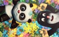 动画片《熊猫和小鼹鼠》