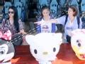 《一路上有你第二季片花》第三期 李湘袁咏仪为米老鼠争破头 李湘猜拳玩输黑脸