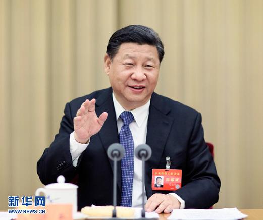 图为:2015年12月18日至21日,中央经济工作会议在北京举行。中共中央总书记、国家主席、中央军委主席习近平发表重要讲话。