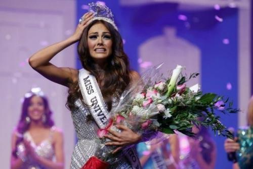 资料图片:原定代表波多黎各参加2016年环球小姐选美的克莉丝丽?卡莱德。