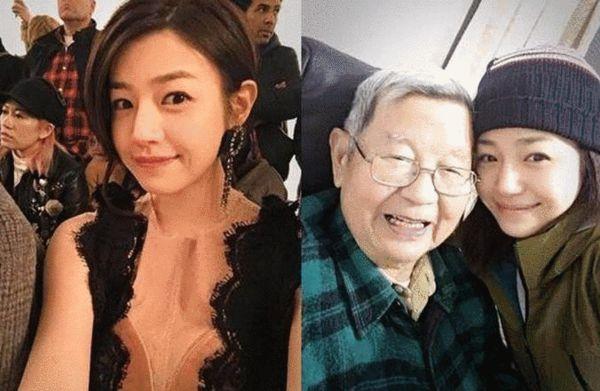 陈妍希和外公