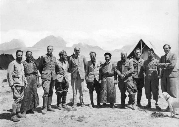 资料图:纳粹西藏特别行动队。