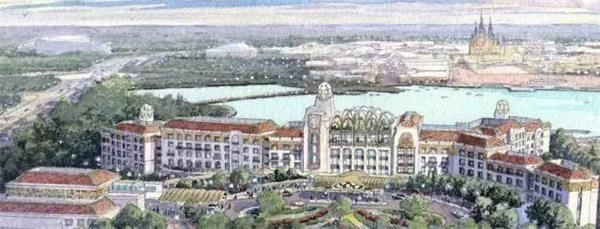 上海迪士尼樂園酒店:1650元-4650元/晚(不包含服務費)