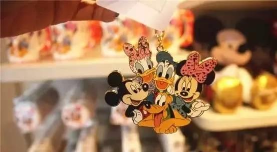 迪士尼主題鑰匙圈,售價約78元/個。